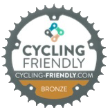 Logo Certificado Cycling Friendly Bronce